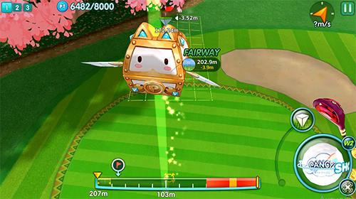 Pangya mobile captura de pantalla 1