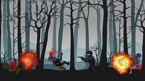 Forest zombie kill for Android