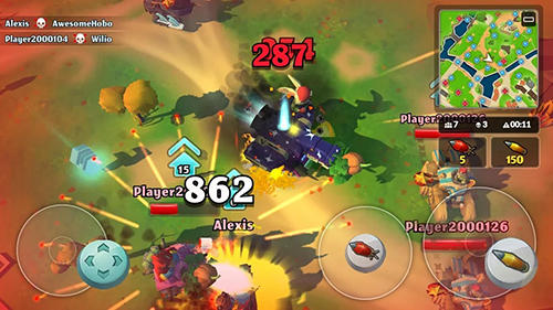 PvPets: Tank battle royale для Android