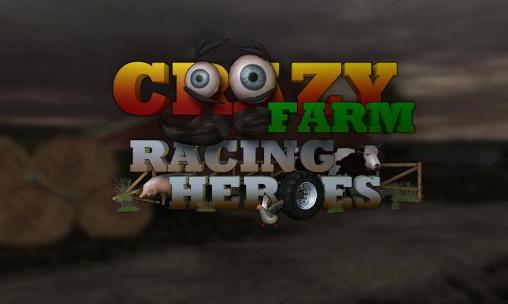 Crazy farm: Racing heroes 3D ícone