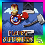 Flappy superhero Symbol