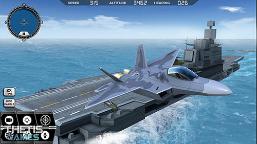 Flight simulator 2017 flywings pour Android