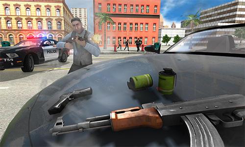 Gangster crime car simulator Screenshot