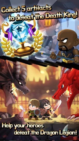 Combo heroescapturas de pantalla