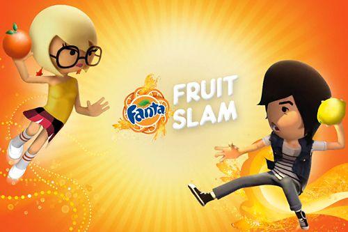 логотип Фанта: Метание фруктов
