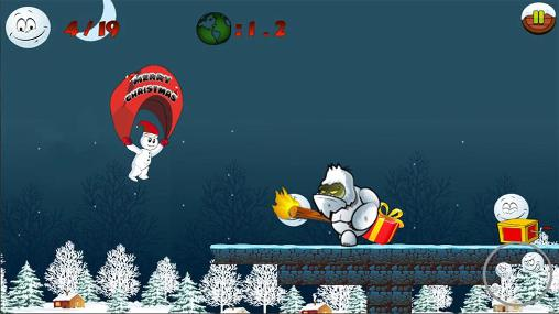 Snowman run für Android