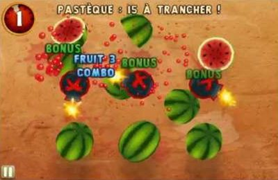 Arcade games: download Fruit Ninja: Puss in Boots to your phone