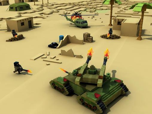 Shooter Blocky battlefield extreme auf Deutsch