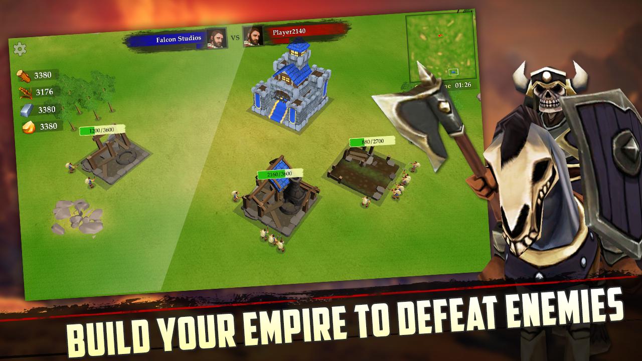 Online Strategiespiele War of Kings auf Deutsch