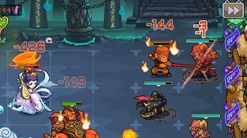 RPG Secret kingdom defenders: Heroes vs. monsters! für das Smartphone