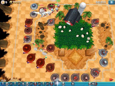 Screenshot Turm Wahnsinn 2: 3D TD auf dem iPhone