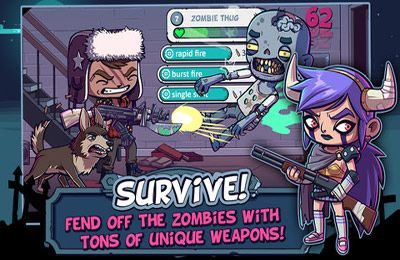 Arcade games: download Zombies Ate My Friends to your phone