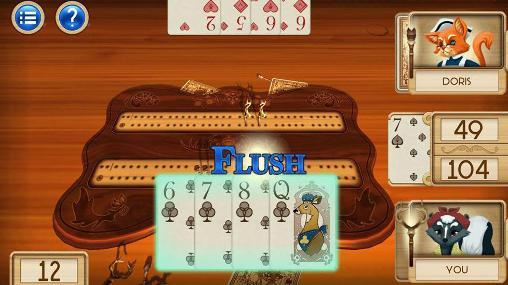 Aces cribbage captura de pantalla 1