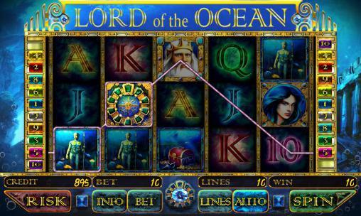 Lord of the ocean: Slot Screenshot