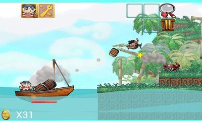 Spiele über Piraten Down With The Ship für das Smartphone