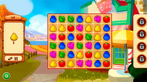 Match 3 games Farm day: 2019 match free games in English