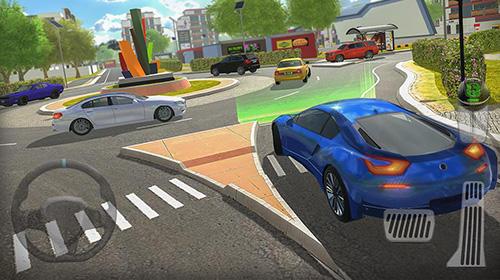 Fahrsimulatoren Roundabout 2: A real city driving parking sim auf Deutsch