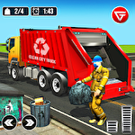 Иконка Garbage truck: Trash cleaner driving game