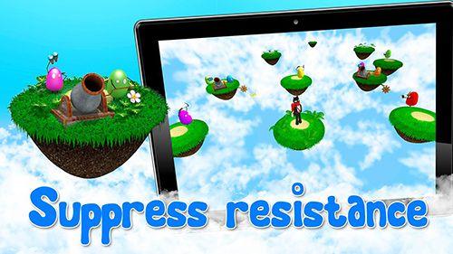 Screenshot Bomberkatze auf dem iPhone