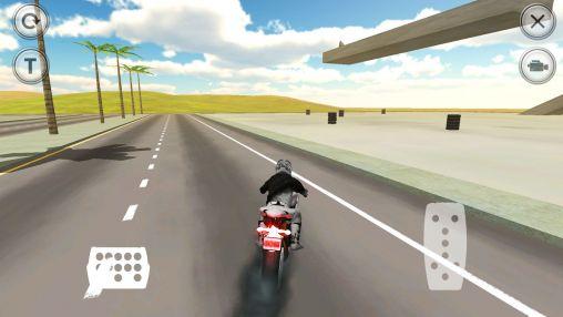 Motorräder Extreme motorbike racer 3D auf Deutsch