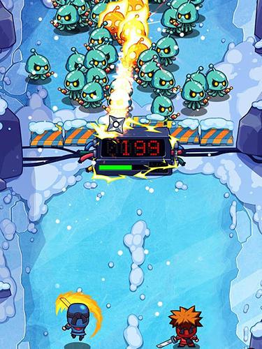 Arcade-Spiele Smashy duo für das Smartphone