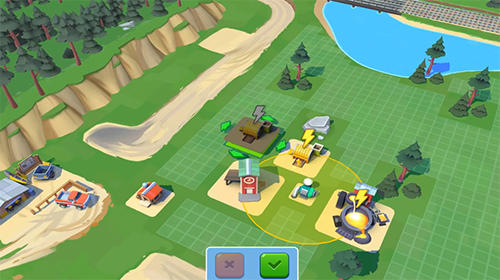 Strategy games: download Planet gold rush to your phone