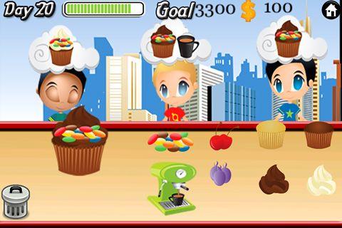 Cupcake Cafe! für iPhone