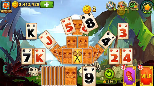 Pyramid solitaire: Adventure. Card games для Android