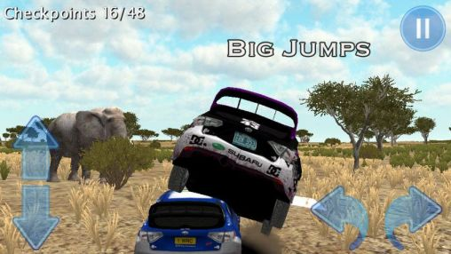 Rally race 3D: Africa 4x4 скриншот 1