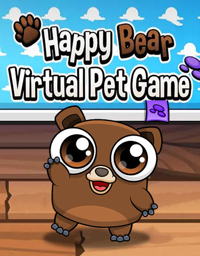 Happy bear: Virtual pet game captura de tela 1