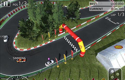 Shell racers auf Deutsch