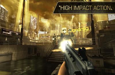 Deus Ex: La caída para iPhone gratis
