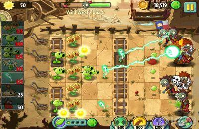 Les Zombies contre Les Plantes 2 pour iPhone gratuitement