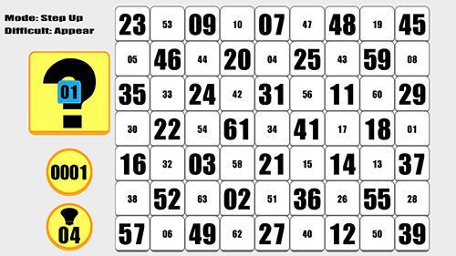 Logikspiele 63: Counting number puzzler für das Smartphone