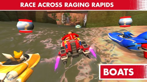 Sonic & all stars racing: Transformed für Android