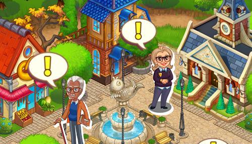 Strategiespiele Summer tales: Farm and town für das Smartphone
