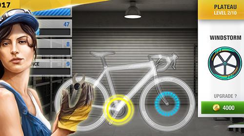 Sport Tour de France: Cycling stars. Official game 2017 für das Smartphone
