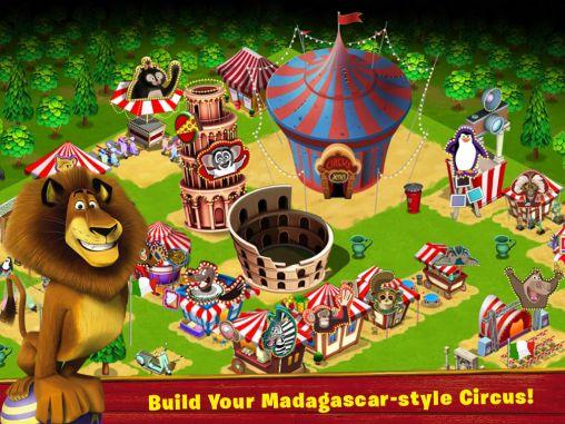 Strategiespiele Madagascar: Join the circus für das Smartphone