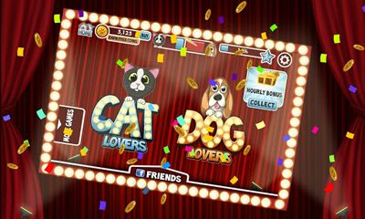 Азартні Cats vs Dogs Slots для смартфону