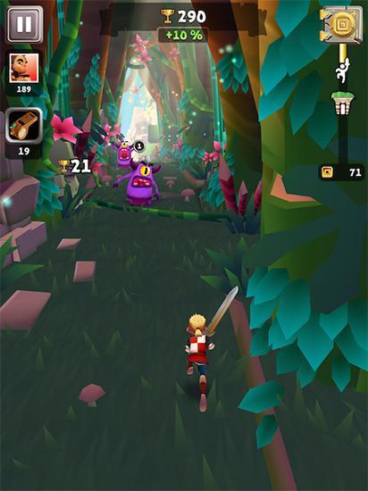 Jogos de arcade Blades of Brimpara smartphone