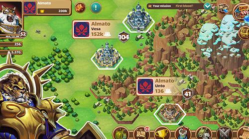 Онлайн стратегіїMillion lords: Real time strategyукраїнською