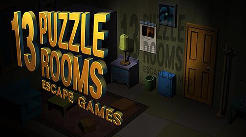 13 puzzle rooms: Escape game Screenshot