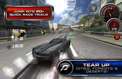Перегони: завантажити Жага швидкості. Движ 2 Звільнення на телефон