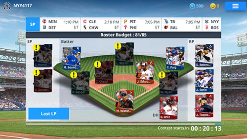 MLB 9 innings manager für Android