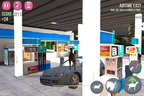 Captura de tela Simulador de cabra no iPhone