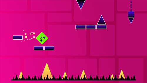 Flippy geometry on dangerous passager für Android