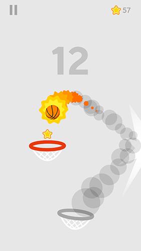 Basketball-Spiele Dunk shot auf Deutsch