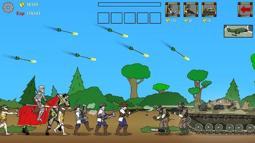 Age of war by Max games studios auf Deutsch