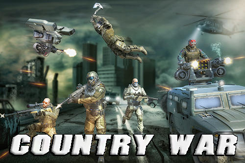 Country war: Battleground survival shooting games captura de tela 1
