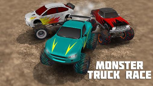 Monster truck race Symbol